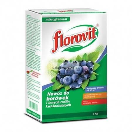 Florovit nawóz do borówek i innych roślin kwaśnolubnych 1kg