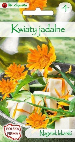 Nagietek lekarski pomarańczowy - Kwiaty jadalne (3 g)
