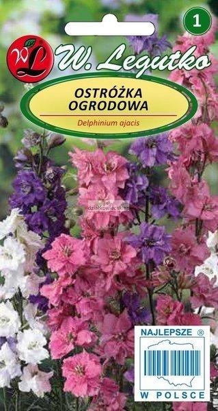 Ostróżka ogrodowa- mieszanka (1 g)