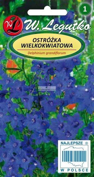 Ostróżka wielkokwiatowa niebieska (0,5 g)