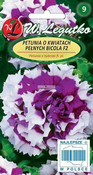 Petunia o kwiatach pełnych Bicola F2  (50 nasion)