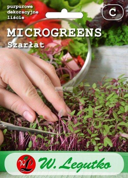 Szarłat jadalny (2 g) - Microgreens