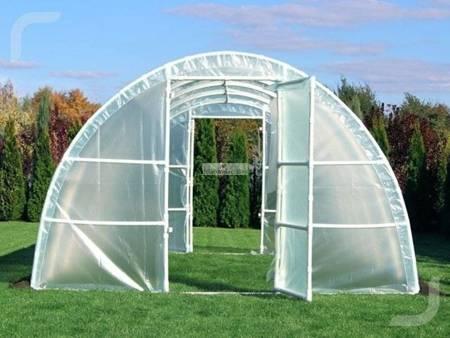Tunel foliowy *A4* 4,8 x 3,0 x 1,9 m z folią 4-UV z wgrzanymi sznurkami